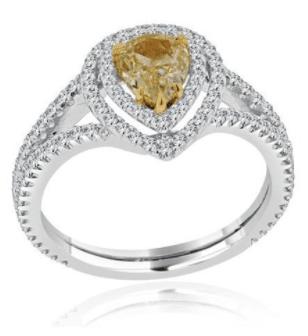 Lauray's Signature Yellow Diamond Ring